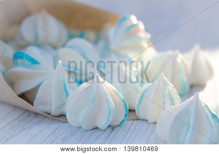 a package of small sugar cookies on a table