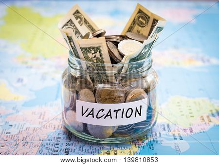 Vacation Budget Concept