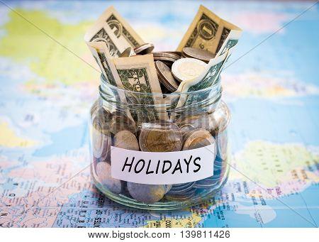Holidays Budget Concept