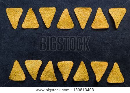 Nachos Or Tacos Frame Background
