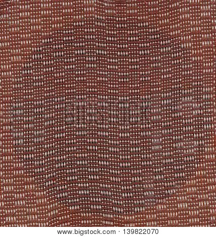 Texture of color textile background from retro radio