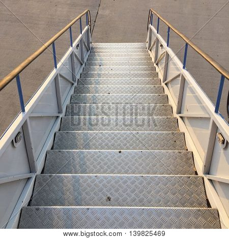 Metal Aircraft Steps
