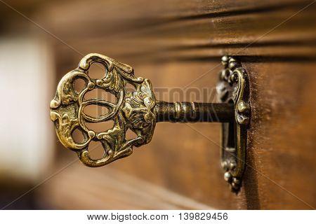 Old Ornate Key
