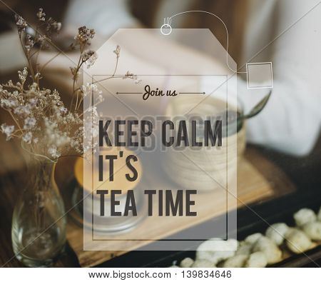 Break Tea Coffee Time Relax Concept