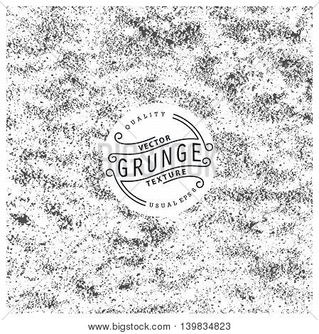 Grunge texture. Vector illustration. Ready for print web and other design