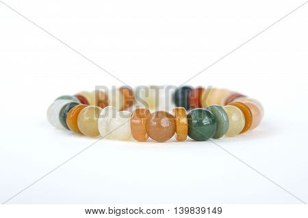 Jade Bracelet, jade jewelry Made of natural stone Believe that the prosperity of the wearer.