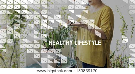 Health Gardening Hobby Leisure Environment Concept