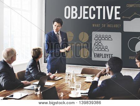 Business Strategy Ideas Plan Progress Concept