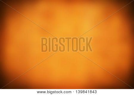 Abstract Orange Blurred Halloween Background And Thanksgiving Background In  Autumn Background
