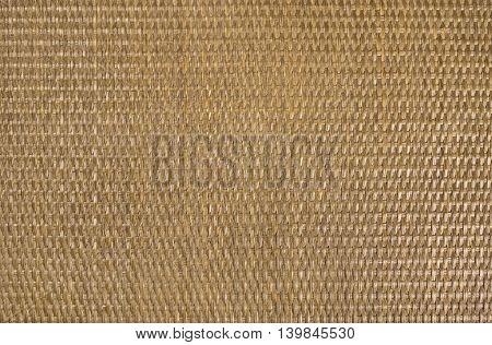 Texture material background of rattan brown horizontal