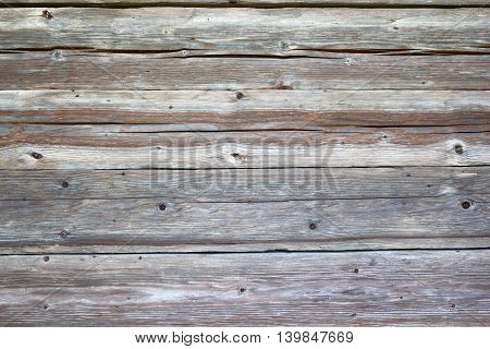 texture of spruce planks on old wall