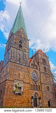 Church Of Our Lady In Bremen In Germany