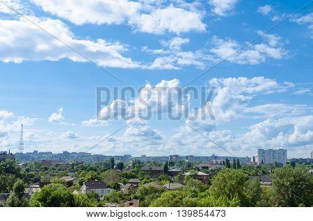 Sky Over Buildings.