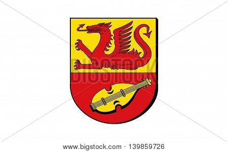 Flag of Alzey-Worms is a district in Rhineland-Palatinate Germany