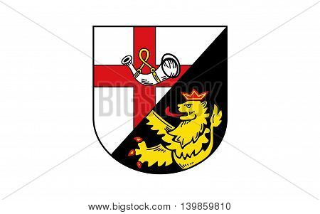 Flag of Cochem-Zell is a district (Kreis) in the north-west of Rhineland-Palatinate Germany