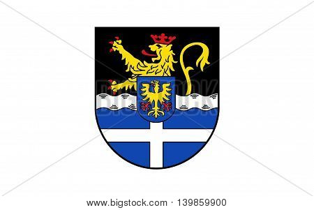 Flag of Germersheim is a district (Kreis) in the south-east of Rhineland-Palatinate Germany