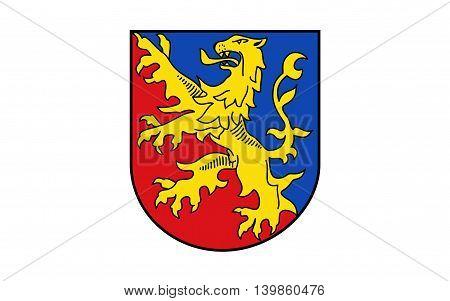 Flag of Rhein-Lahn-Kreis is a district (Kreis) in the east of Rhineland-Palatinate Germany