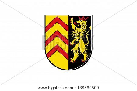 Flag of Sudwestpfalz is a district in the south of Rhineland-Palatinate Germany