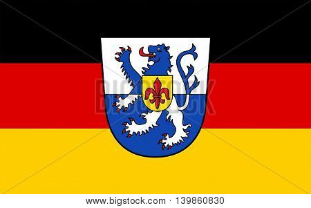 Flag of Sankt Wendel is a Kreis (district) in the north of the Saarland Germany