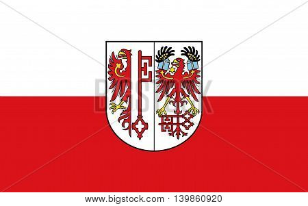 Flag of Salzwedel is a town in Saxony-Anhalt Germany
