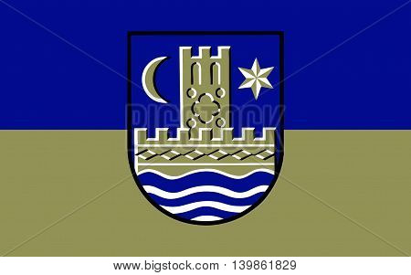 Flag of Schleswig is a town in the northeastern part of Schleswig-Holstein Germany