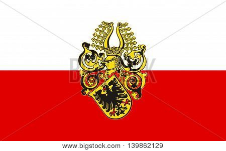 Flag of Nordhausen is a city in Thuringia Germany