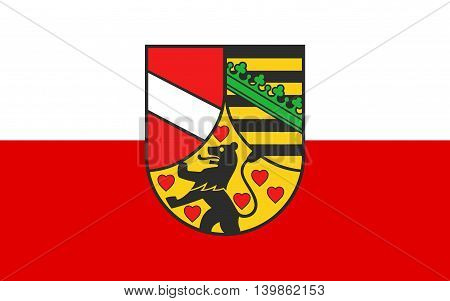 Flag of Saale-Holzland is a Kreis (district) in the east of Thuringia Germany