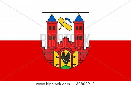 Flag of Suhl is a city in Thuringia Germany