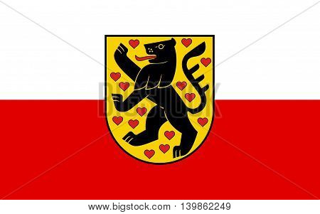 Flag of Weimar is a city in the federal state of Thuringia Germany