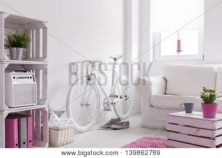 Bicycle Storing In Room