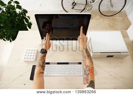 Touch Screen Presentation Interface Set
