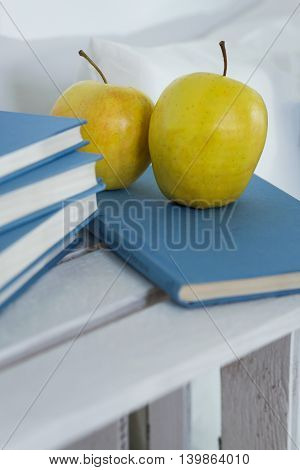 Apples And Books Are Always A Good Idea