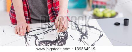 Art Is Her Life