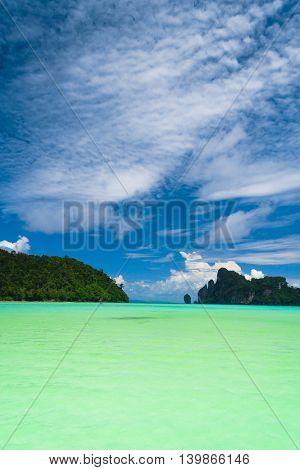 Horizon Rocks Sunny Panorama