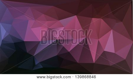 purple pink abstract triangle background mosaic type