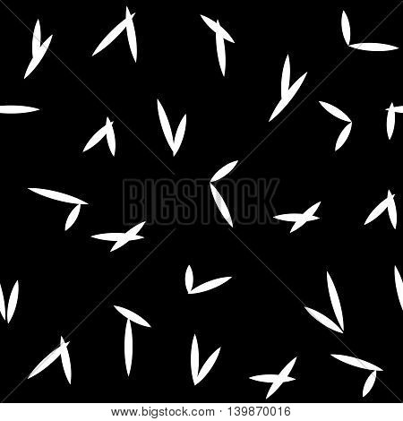 Abstract hatch seamless pattern. Fashion graphic background design. Modern stylish abstract texture. Monochrome template for prints textiles wrapping wallpaper website etc. VECTOR illustration