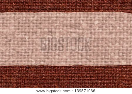 Textile tablecloth fabric decoration camel canvas jutesack material retro-styled background
