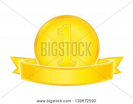 Gold Medal Number One