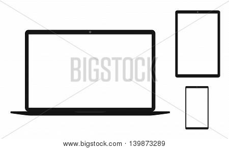 Electronics And White Screen