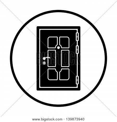 Apartments Door Icon