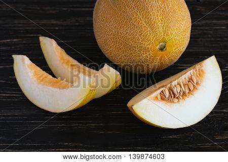 Fresh Melons Sliced