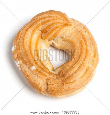 Cake ring isolated on white background