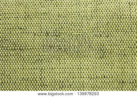 Texture and background of rough cloth green