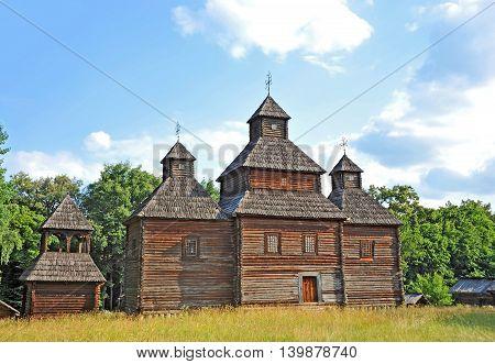 Antique Wooden Church