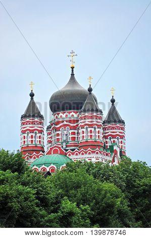 Orthodox Cathedral In Feofaniya