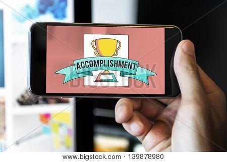 The Award Goals Trophy Success
