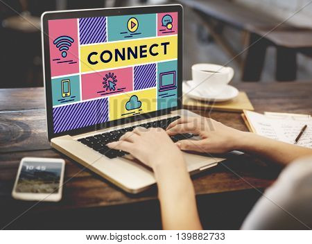 Connect Sharing Networking Communication Internet Concept