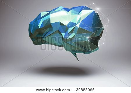 Abstract Polygonal Brain