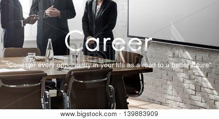 Career Hiring Human Resources Job Occupation Concept