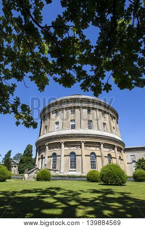 BURY ST EDMUNDS UK - JULY 19TH 2016: A view of the beautiful Ickworth House and gardens in Suffolk on 19th July 2016.